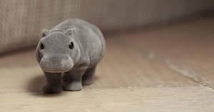 Kinder surprise hippopotamus :) by cagacaga