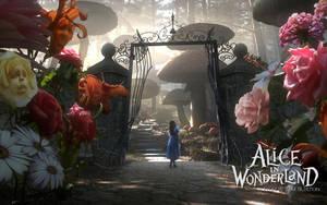 Alice in Wonderland Wallpaper by tomjg