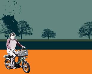 scooter by Cheynez