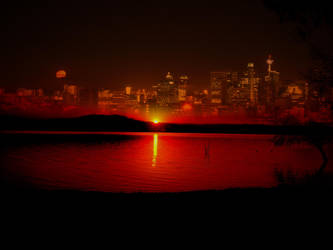 sunset by Cheynez