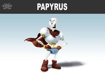 Papyrus Picks a Bone! by locomotive111