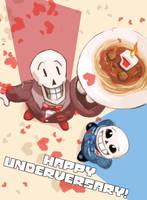 Happy Underversary! by locomotive111