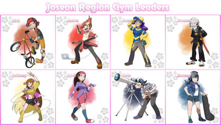 Pokemon Carnation Version Characters By Locomotive111 On