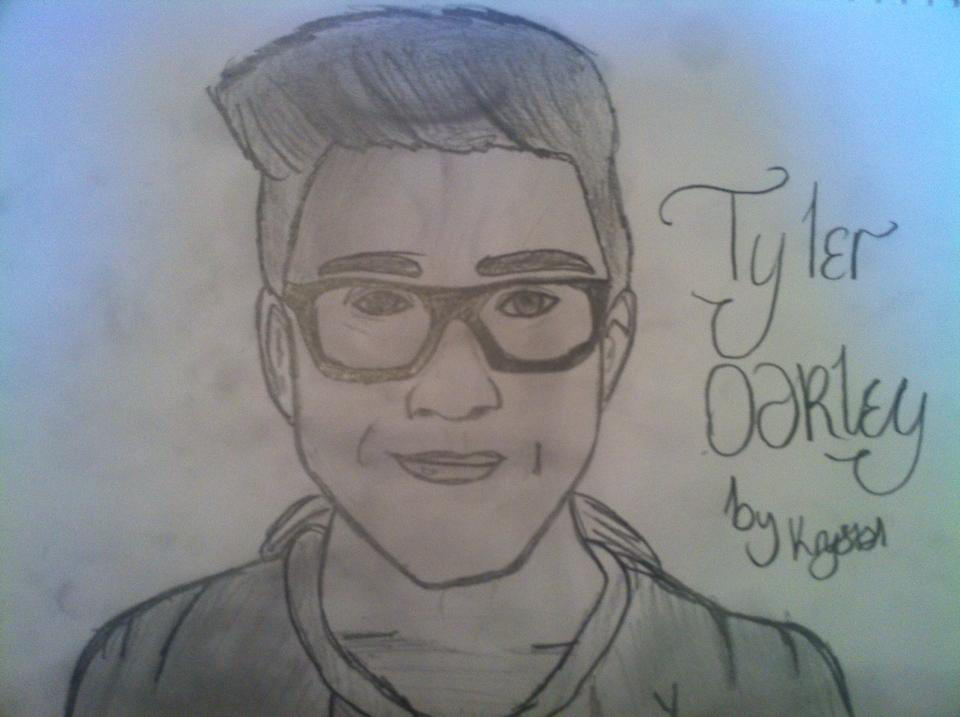 Tyler Oakley Drawing attempt by Hack-Girl