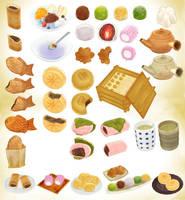 Japanese sweet pack V2 MMD Download by Hack-Girl