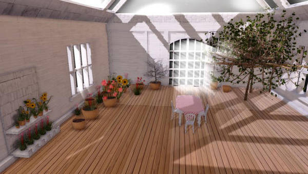 MMD Sunshine House DL down by Hack-Girl