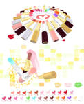 MMD Lipstick cosmetic pack Download by Hack-Girl
