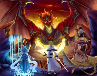 + Dragon HUNT + by retrozero