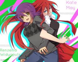 SS: Kate and Renzellia by retrozero