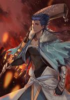 Fuyuki On Fire by retrozero