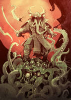Elephantmen # 72 Back cover by Abz-J-Harding
