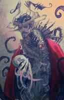 Cephalopods were very fond of him by Abz-J-Harding