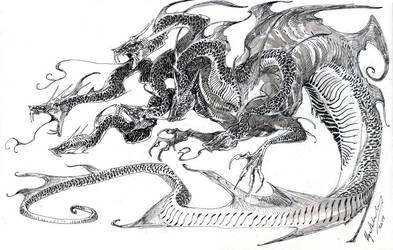 Hydra by Abz-J-Harding