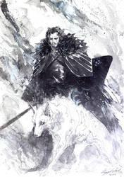 Jon Snow by Abz-J-Harding