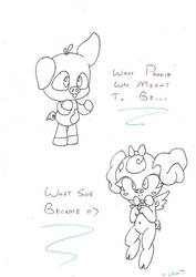 Your Peggie is Evolving! by Lil-Peggie-Porkchops