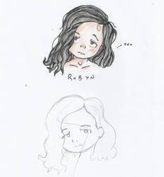 Robyn: Forehead girl by Lil-Peggie-Porkchops