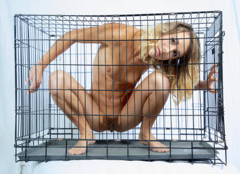 Caged beauty 12 by DPAdoc
