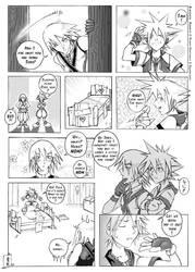 Kingdom Hearts shortcomic by drowdragon