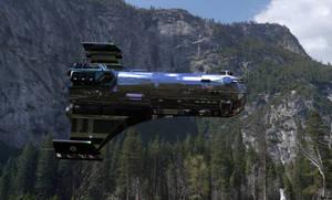 Traveller - Subsidized Merchant taking off by jcalvoces