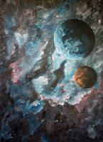 Universe's lights by Ayumidragon