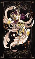 Art Trade: Sacred Saga Kian by Blatterbury
