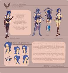 Character Profile by Blatterbury