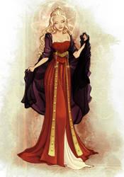 Rhaenys Targaryen by Blatterbury