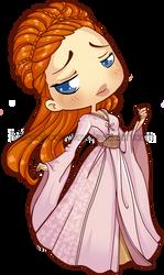 Chibi Sansa by Blatterbury