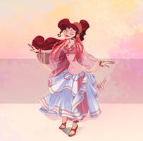 Disney Belly Dancers: El Hagalla by Blatterbury
