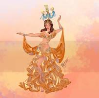 Disney Belly Dancers: Raqs Shamadan by Blatterbury