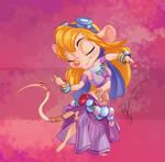 Disney Bellydancer: Gadget Hackwrench by Blatterbury