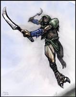 Gondar, the Bounty Hunter by McGibs