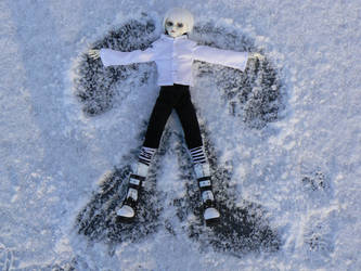 Snow angel by charsi