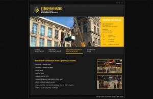 webdesign for brzek by DOGFISH-cz