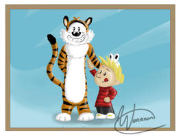 Calvin and Hobbes by Worran