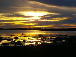 Afternoon sea by PandaTearz