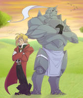 FMA Bros +Collab+ by RoseyRoseyMae