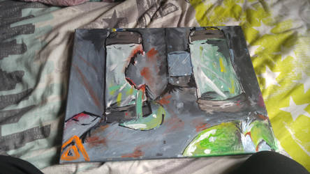 lab painting by DexiTea