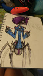 karma the spider by DexiTea