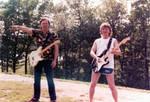 David Gilmour and Mick Ralphs by Vividlight