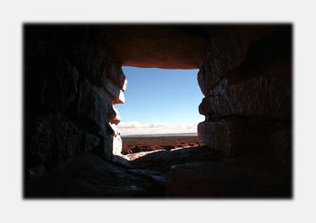 Wupatki Window by Vividlight