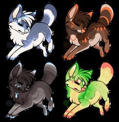 Canine adopt batch 3 [Closed] by SecretViper