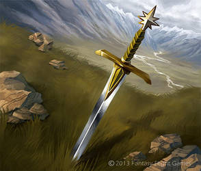 Sword of Morthond by skdiesel