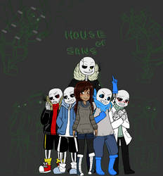 House of Sans (Various Sans x Reader) WIP by FloralPuns