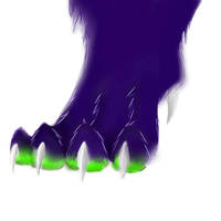 random paw by Deathtail-The-DraCon
