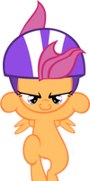 Scootaloo Jumping1 - Vector by GuruGrendo