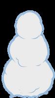 Snowman - Vector by GuruGrendo