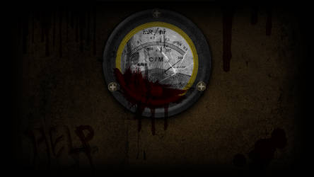 Bloody Geiger Counter - Wallpaper by GuruGrendo