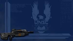 Halo 4 Battle Rifle - Wallpaper by GuruGrendo