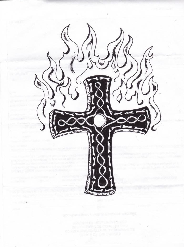 Rob's Art - The Cross by GuruGrendo